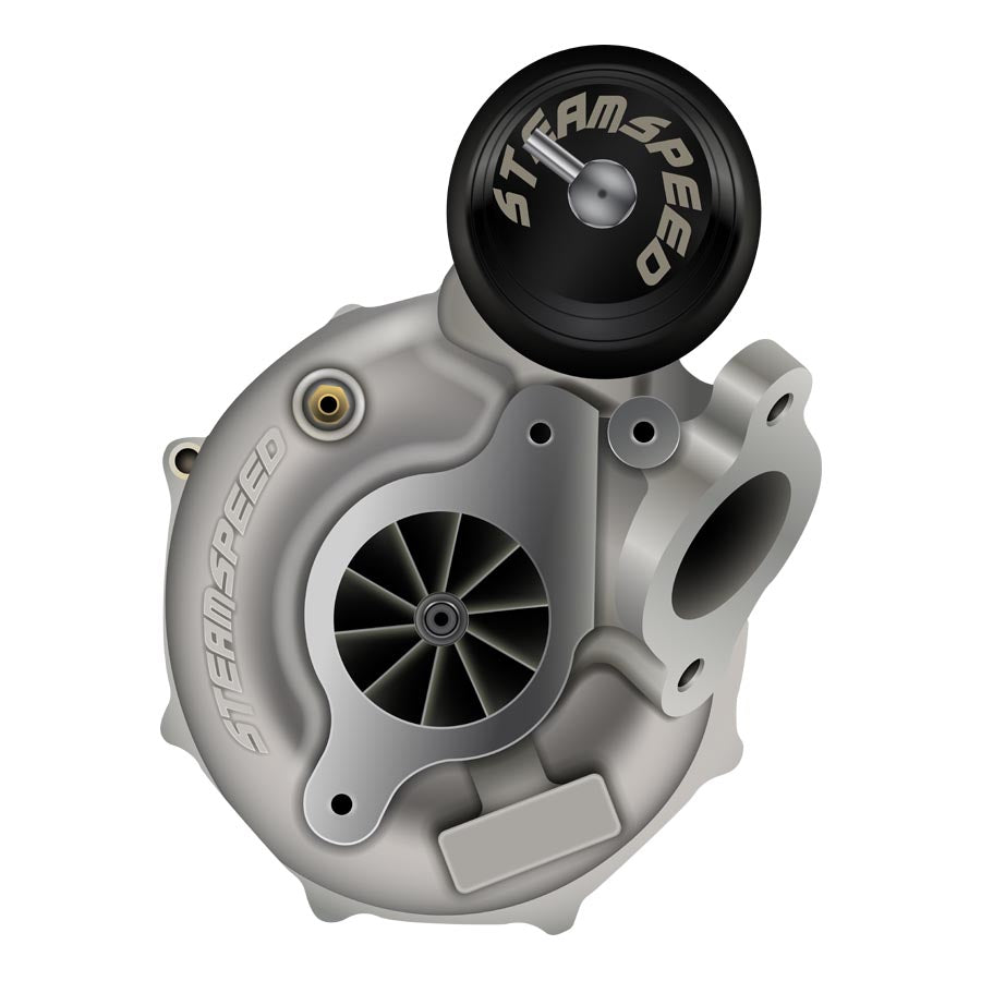 SteamSpeed STX 71R Ball Bearing Turbo Ported - 2015+ Subaru WRX-SteamSpeed-TARMAC ATTACKERS