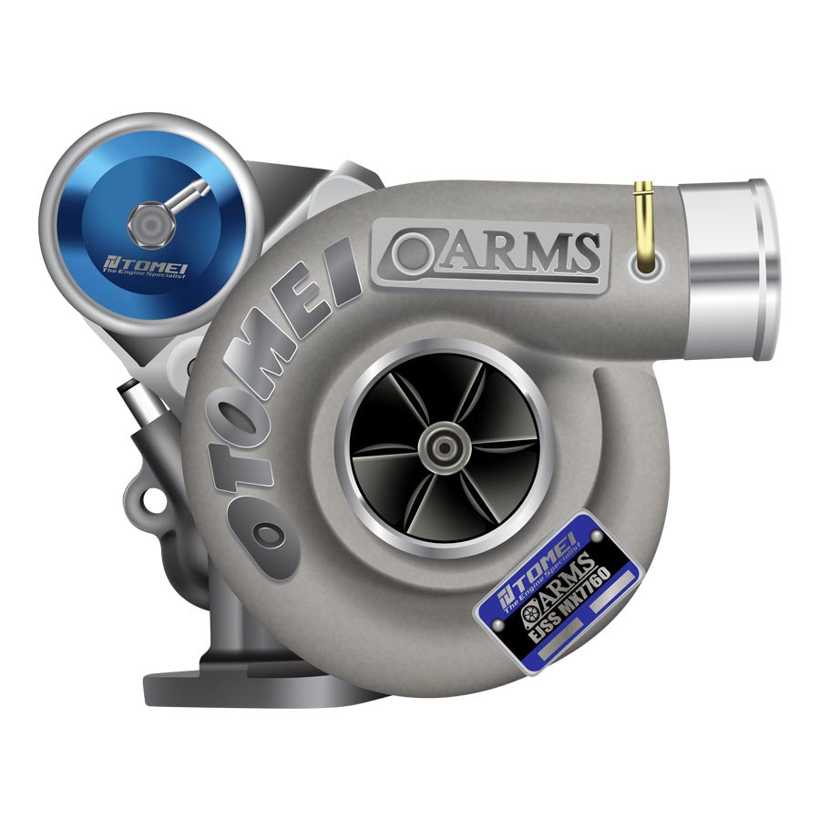 Tomei ARMS MX7760 Turbo - 2008-2014 Subaru STI-Tomei-TARMAC ATTACKERS