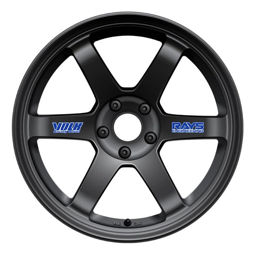 Volk TE37 Original Wheels - Matte Black-Volk-TARMAC ATTACKERS