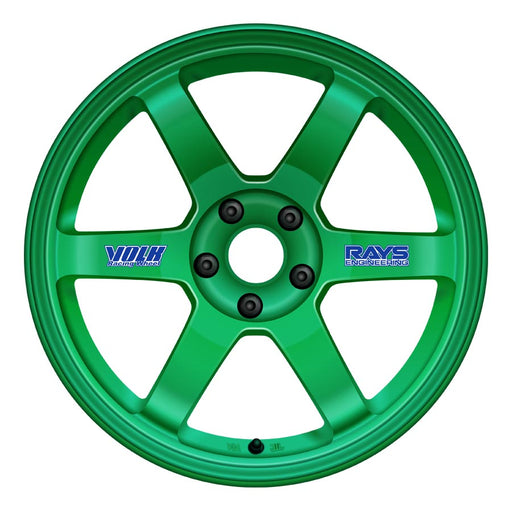 Volk TE37 Original Wheels - Takata Green-Volk-TARMAC ATTACKERS