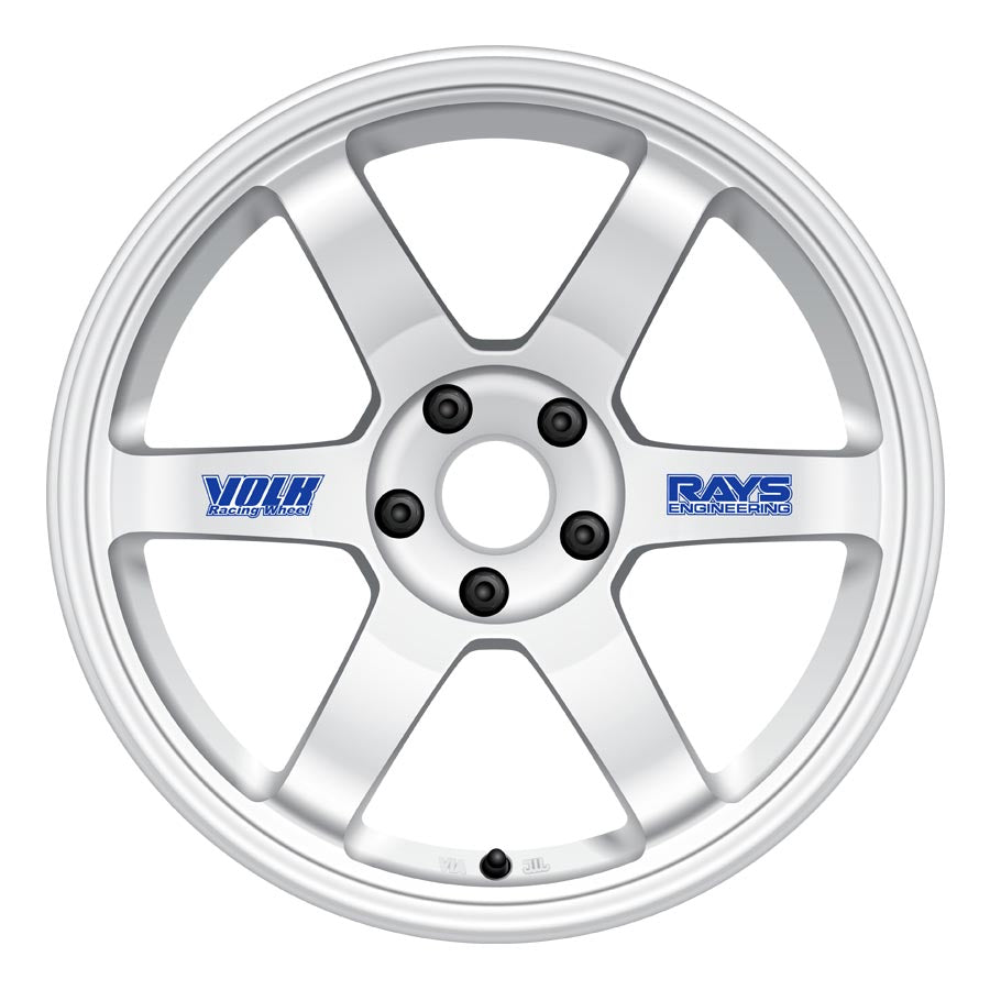 Volk TE37 Original Wheels - White-Volk-TARMAC ATTACKERS