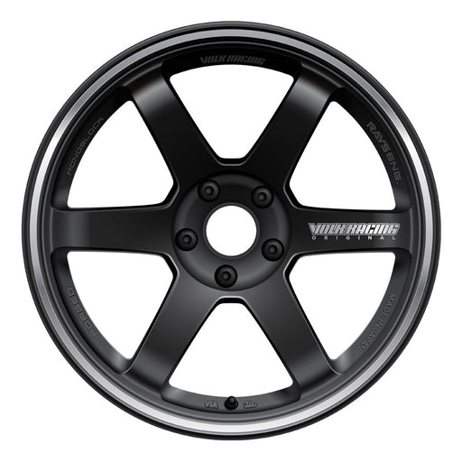 Volk TE37RT Wheels - Black-Volk-TARMAC ATTACKERS