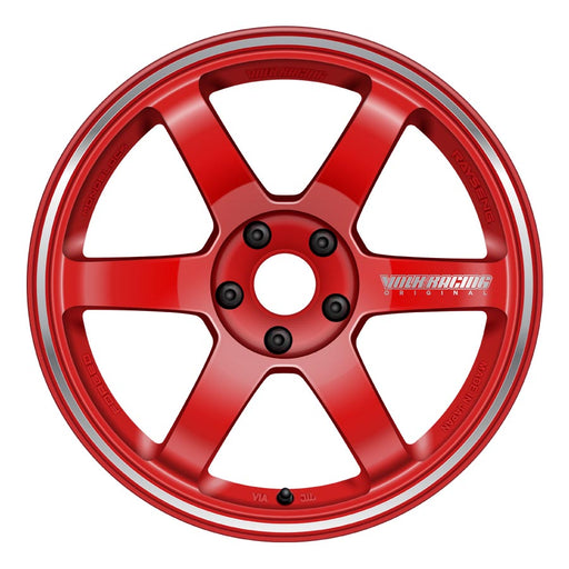 Volk TE37RT Wheels - Burning Red-Volk-TARMAC ATTACKERS