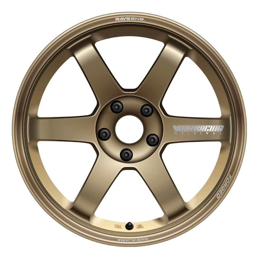 Volk TE37 Saga Wheels - Bronze-Volk-TARMAC ATTACKERS