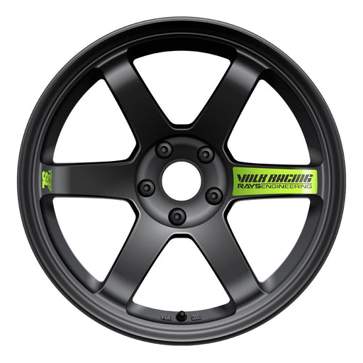 Volk TE37SL Super Lap Black Edition Wheels - Matte Black-Volk-TARMAC ATTACKERS