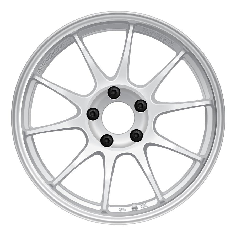 WedsSport TC105N Wheels - Circuit White-WedsSport-TARMAC ATTACKERS