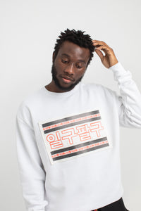 RETRO SWEATSHIRT WHITE | UNISEX