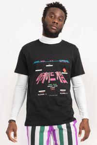 ARCADE GAMES T-SHIRT BLACK | UNISEX