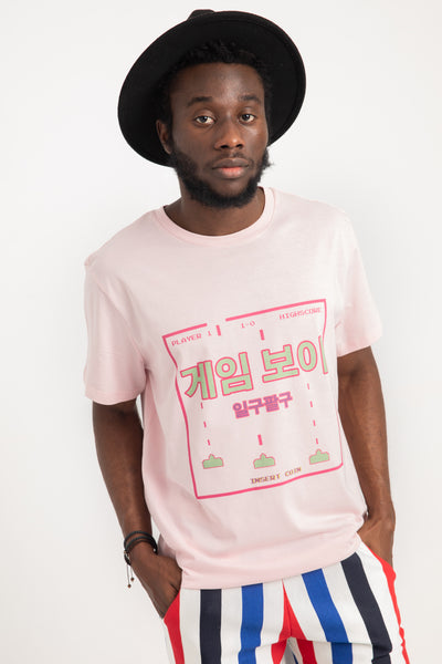GAME BOY T-SHIRT PINK | UNISEX
