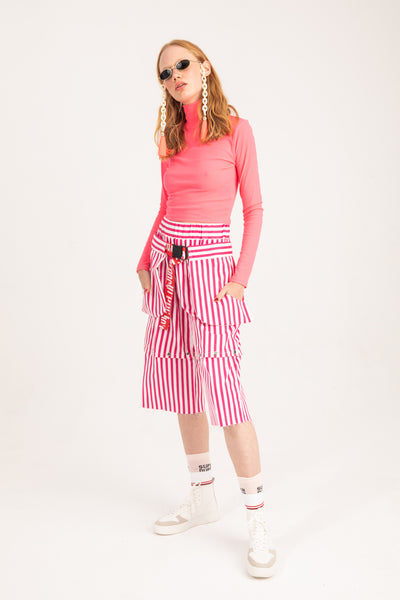 PINK STRIPED Bottoms
