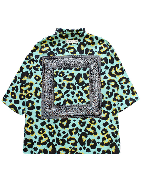 JUNGLE SHIRT | TURQUOISE