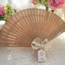 Fans with Label