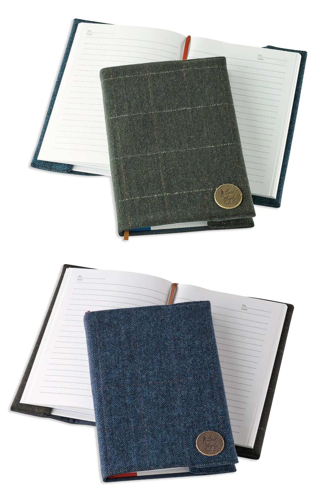 Jack Murphy Tweed Notebook