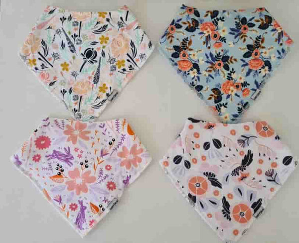 DRIBBLE PROOF BANDANA BIBS