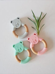 Dainty Bear Baby Teether All