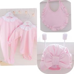luxury frilly collar baby gift bundle