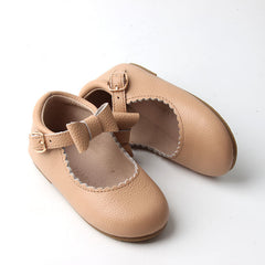 Mary Jane bow children's shoes