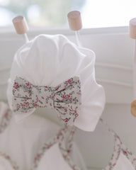 baby bow floral turban