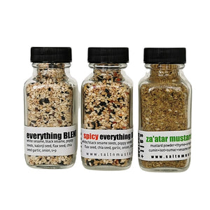 EVERYTHING TRIO - salt + MUSTARD
