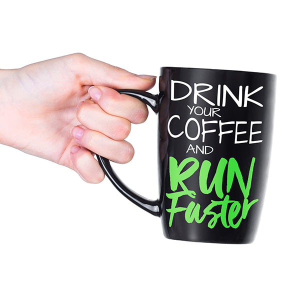Run faster with coffee