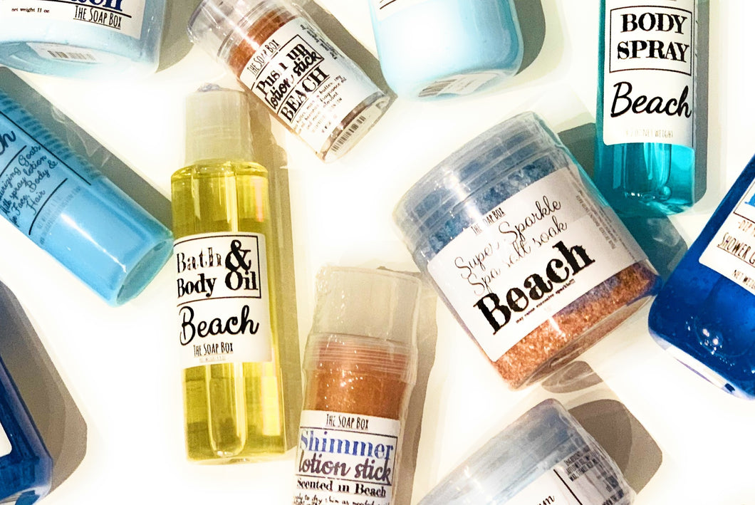Beach Bath & Body Collection