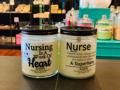 Nurse candles - new