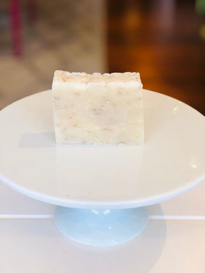 Goat Milk Unscented Oatmeal Soap Bar