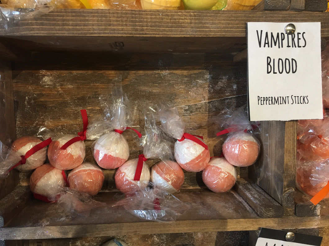 Vampires Blood Bath Bomb