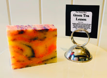 Green Tea and Lemon Soap Bar Vegan