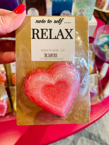 Soap on a Card - encouragement / humor  - NEW