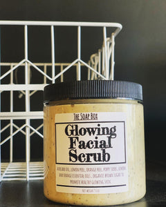 Glowing Facial Cleanser Scrub (Best Seller)