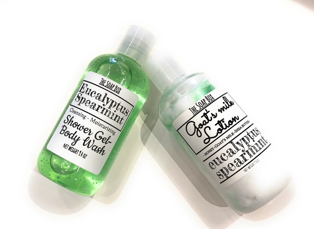 Eucalyptus Spearmint Bath & Body Collection