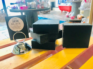 Black (Activated Charcoal) Soap Bar Vegan