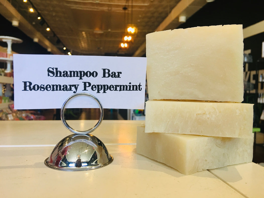 Rosemary Peppermint Shampoo Bar- Vegan