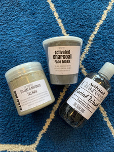 Activated Charcoal Facial Mask