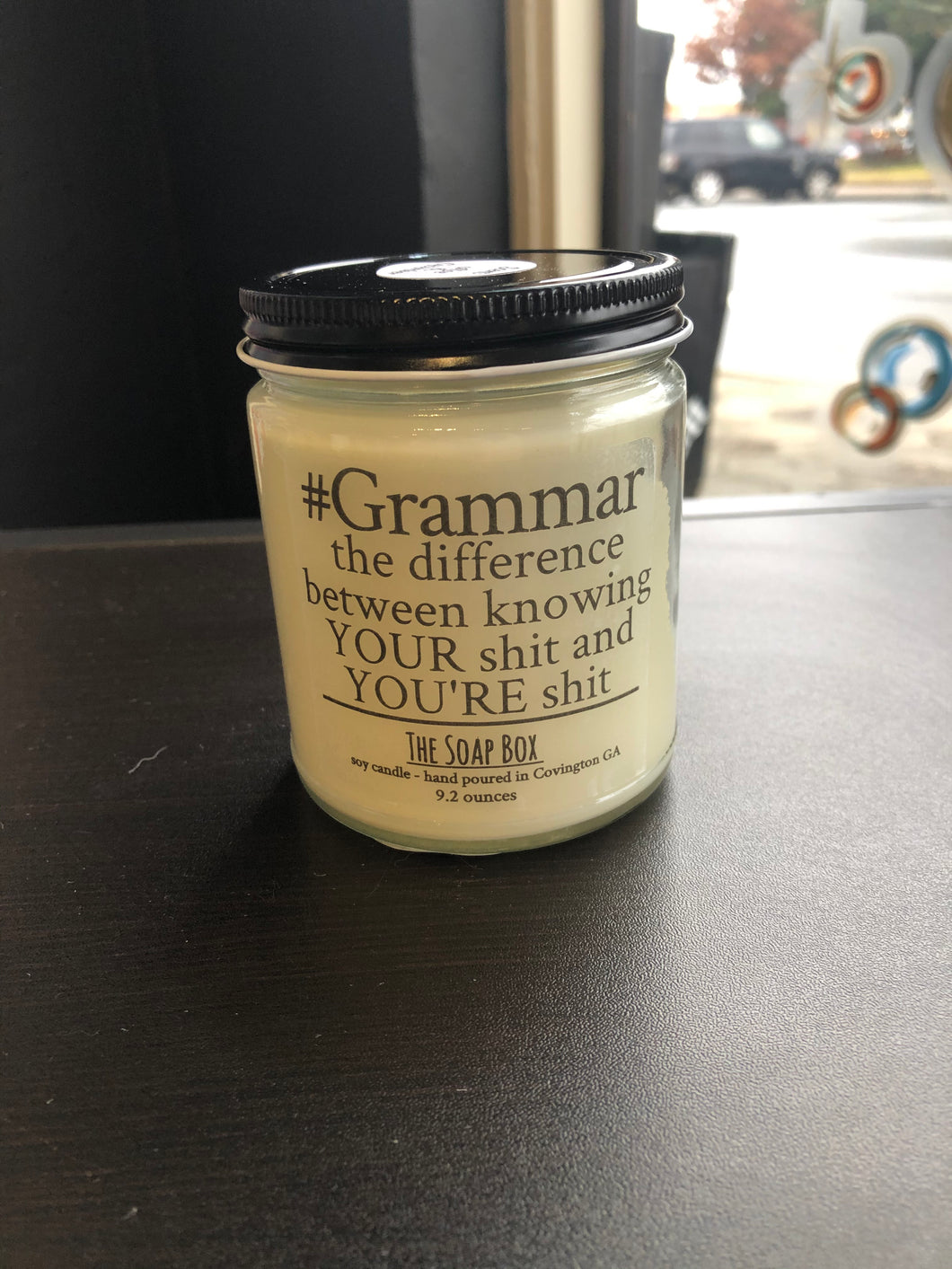 #Grammar: The Difference Between Knowing Your Shit & You're Shit Candle