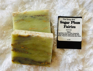 Sugar Plum Fairies Soap Bar Vegan