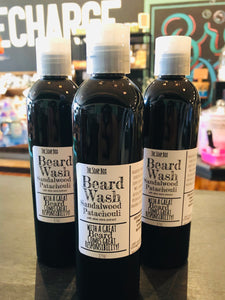 Sandalwood patchouli beard wash - new