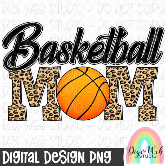 Basketball Mom - Digital Sublimation Printable