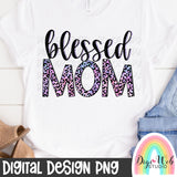 Blessed Mom 3 - Digital Sublimation Printable