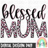 Blessed Mum 1 - Digital Sublimation Printable