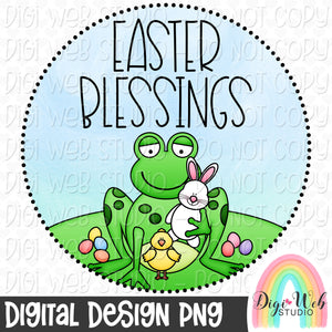 Easter Blessings - Digital Sublimation Printable