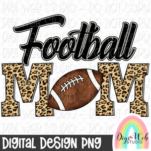 Football Mom - Digital Sublimation Printable
