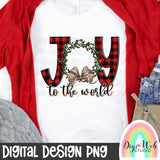 Joy To The World - Digital Sublimation Printable