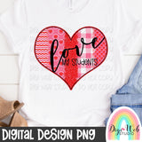 Love My Students - Valentine Digital Sublimation Printable