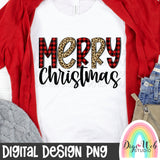 Merry Christmas 2 - Digital Sublimation Printable