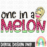 One In A Melon 1 - Digital Sublimation Printable