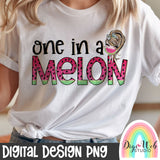 One In A Melon 2 - Digital Sublimation Printable