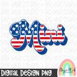 Patriotic Mini - Digital Sublimation Printable
