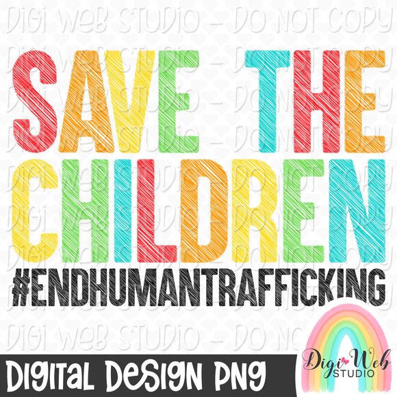 Save The Children - Digital Sublimation Printable